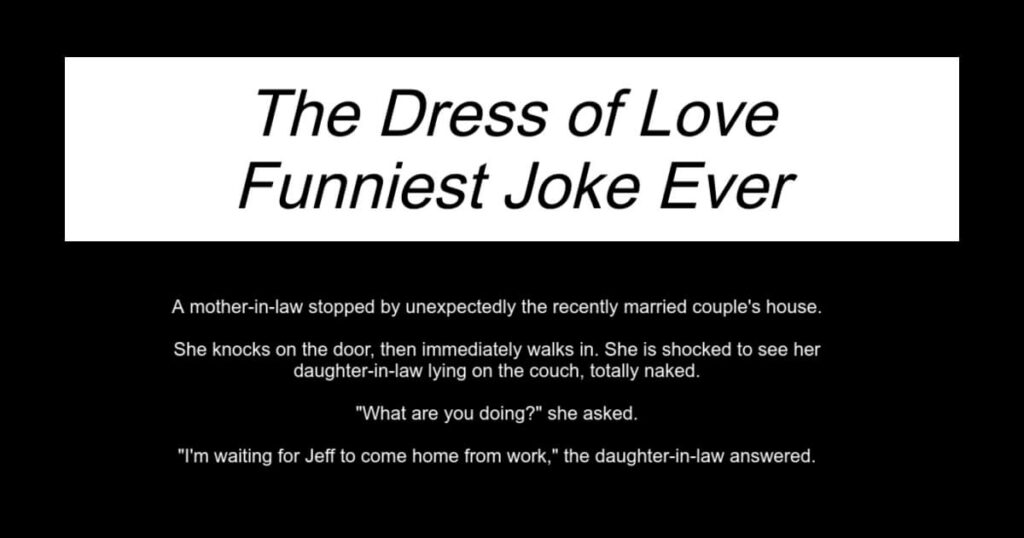The Dress of Love