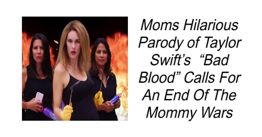 Moms Hilarious Parody Calls For An End Of The Mommy Wars