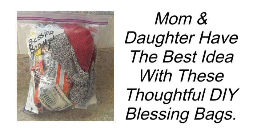 Thoughtful DIY Blessing Bags
