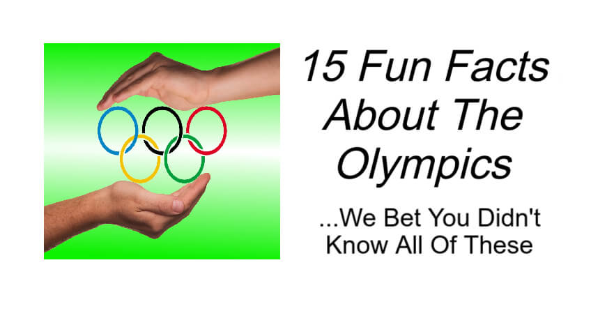 15 Fun Facts About The Olympics